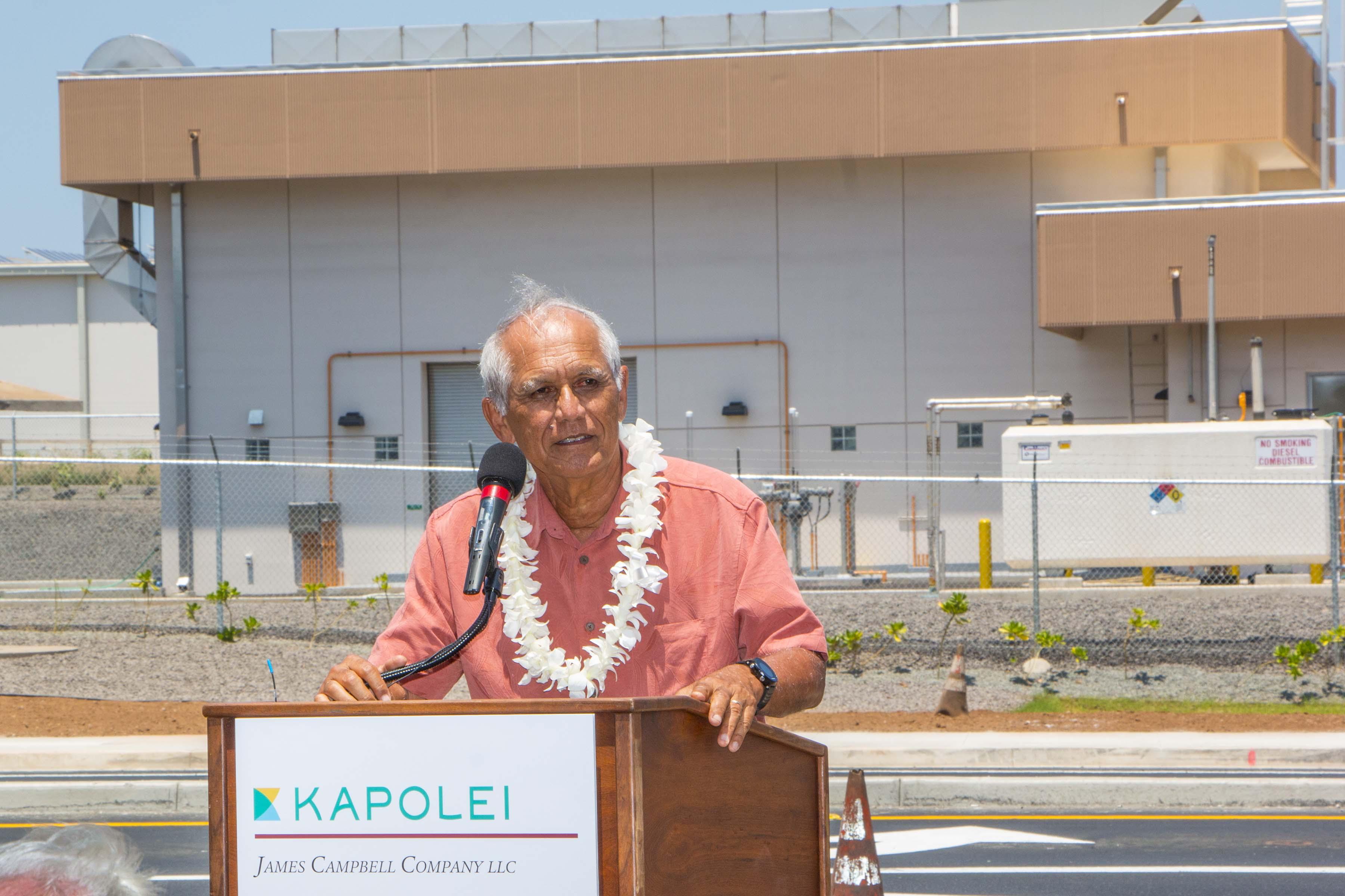 I spoke at the completion celebration of the Kapolei Boulevard Improvement Project in Kapolei on June 20. The Kapolei Properties Division of the James ...